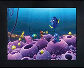 Finding Nemo Dory 3D Poster Wall Art Decor Framed | 14.5x18.5"