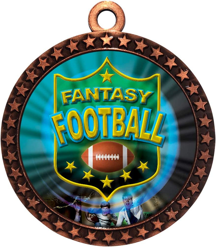 Express Medals 1 to 50 OFFer Packs Troph Directly managed store Medal Fantasy Football Bronze