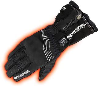 コミネ KOMINE バイク プロテクトエレクトリックグローブ12V 手袋 電熱 発熱 防寒 Black/L 08-201 EK-201