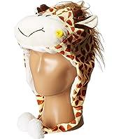 SCALA Faux Fur Animal Hat (Toddler/Little Kids)