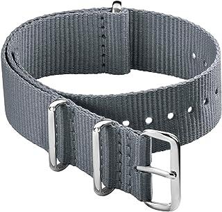 Archer Watch Straps - Bracelet de Montre Classique en Nylon de Style NATO | Choix De Couleur et de Taille (18mm,20mm, 22mm...