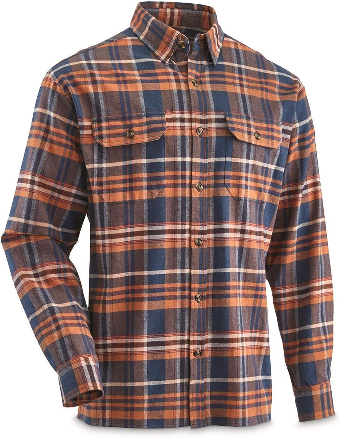 Guide Gear Men's Yarn-Dyed Flannel Shirt