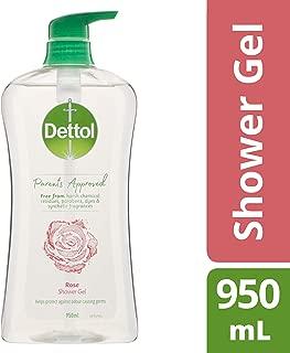 Dettol Parents Approved Shower Gel Body Wash Soap Rose 950ml