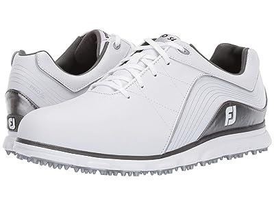 FootJoy Pro SL Spikeless (White/Silver) Men