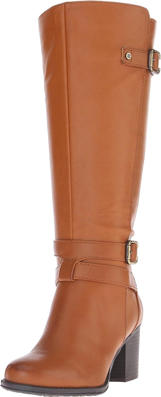 Naturalizer Women's Tricia Wide Calf Harness Boot