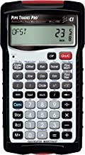 Calculated Industries 4095 Pipe Trades Pro Advanced Pipe Layout and Design Math Calculator Tool for Pipefitters, Steamfitters, Sprinklerfitters and Welders   Built-in Pipe Data for 7 Materials