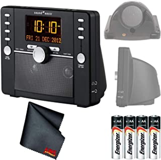 Sound Oasis S-5000 Deluxe Sleep Sound Therapy System Bundled with (4) AA Batteries and Microfiber Cleaning Cloth