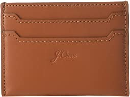 Smooth Leather Slip Card Case