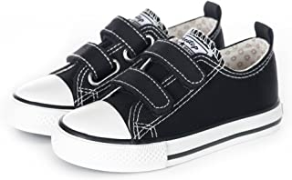 Sponsored Ad - Weestep Toddler Little Kid Boy and Girl Classic Adjustable Strap Sneaker