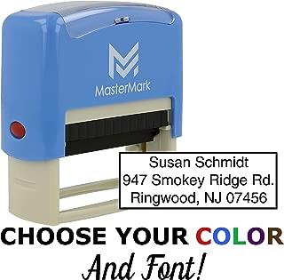 Custom Stamp - Self-Inking Stamp (3 Line Stamp)