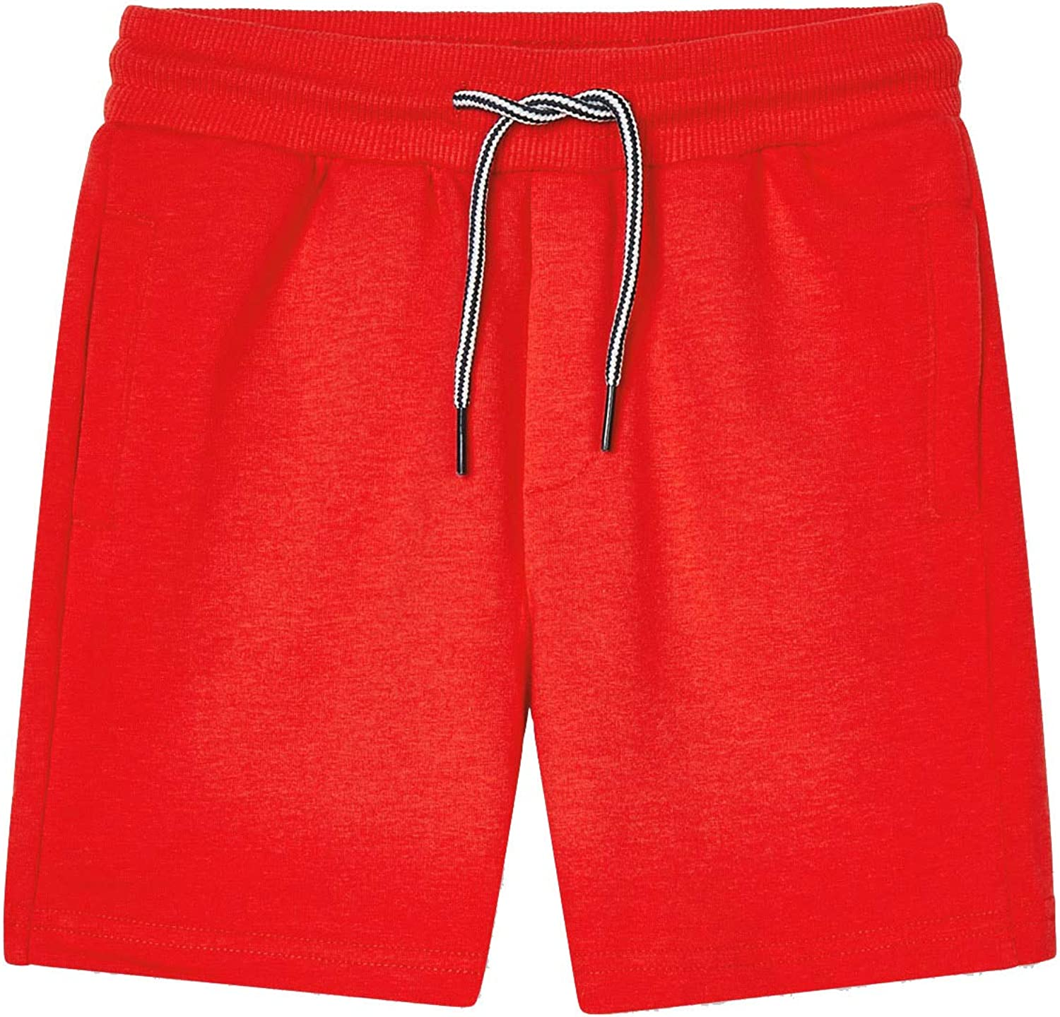 Mayoral - Basic Fleece Shorts for Boys - 0611, Cyber red