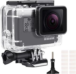 Wodoodporna obudowa do GoPro Hero 5/6/7, obudowa ochronna do nurkowania 60M do czarnej kamery akcji Gopro Hero 5/6/7, podw...