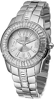 Roberto Cavalli - R7253147515 - Reloj de Mujer de Cuarzo, Correa de Acero Inoxidable Color Plata
