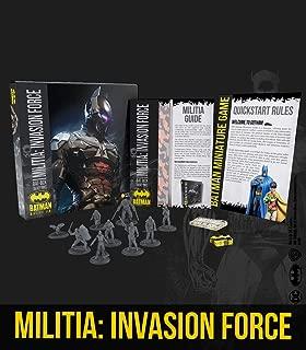 Batman Miniature Game: Bat-Box Militia Invasion Force