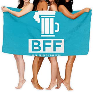 BFF Beer Friends Forever 20 Sport Towel - Travel Towels - 100% Microfiber - Gym - Beach - Surf - Camping - Backpacking- Ultra-Light - Fast Drying