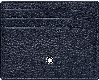 Montblanc Meisterstück Soft Grain Credit Card Case 10 Centimeters Blue (Blau)