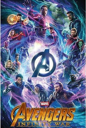 Venta barata Avengers Marvel Beautiful Unique Puzzle De Madera 500,1000 Piezas para para para Adultos, Fanáticos De Los Niños,C,1000PCS  moda clasica