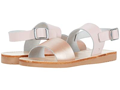 Freshly Picked Sanibel Sandal (Infant/Toddler/Little Kid) (Rose Gold/Blush) Girl