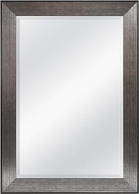 Home Basic DM47054 12 x 16 Wall Mirror Natural