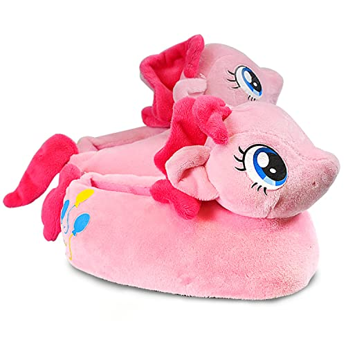 18a71a7a8c67 My Little Pony Kids Plush Slippers Bedtime Toddler Soft Non Slip Rainbow  Dash