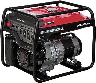 Honda Power Equipment EG6500CLAT 655690 6,500W Portable Generator with DAVR Technology CARB, Steel