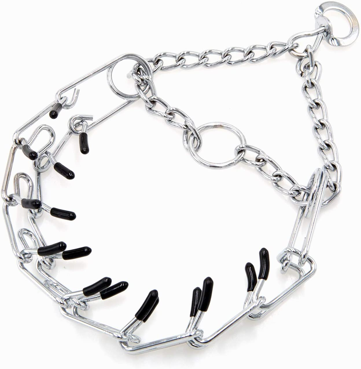 Dog Prong Collar Classic free shipping Regular store Stainless Pinch Choke Chain Steel