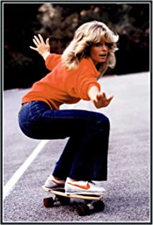 Chihie Charlie`s Angel Farrah Fawcett Art Poster Print Photo Paper Art Posters Print Living Room Home Decoration -20X28In...
