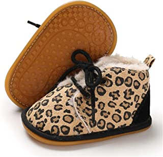 Winter Newborn Baby Girls Boys Booties Rubber Sole Non Skid Shoes