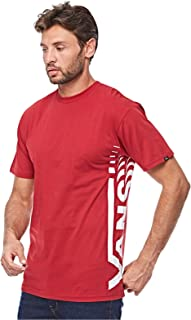 Vans Vans Distorted Ss Cardinal T-shirt For Men