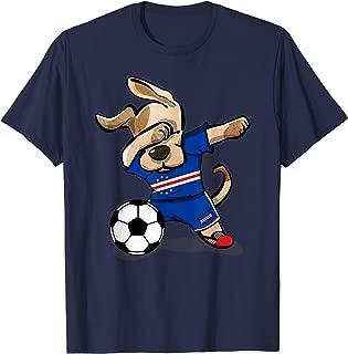 Dab Dog Soccer Cape Verde Jersey Cape Verdean Football Shirt