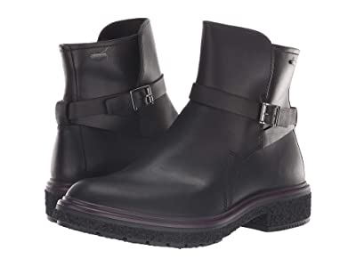 ECCO Crepetray GORE-TEX(r) Boot (Black Cow Leather) Women
