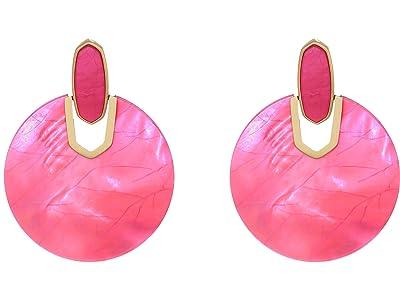 Kendra Scott Didi Earrings (Gold/Azalea Illusion) Earring