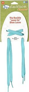 SlackLace - Flat Elastic Shoe Laces - No Lock, No Re-Tie