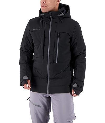 Obermeyer Caldera Down Hybrid Jacket (Black) Men