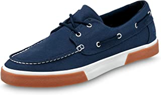 Timberland - Chaussures de bateau pour homme en toile.