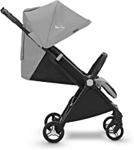 gb Gold Qbit+ All-City Compact Pushchair Lie-Flat Reclining Seat Approx. 4 Years Silver Anodised Frame from Birth to 17 kg Velvet Black Fashion Collection Edition