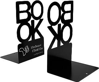 """Metalowa książka kreatywna """"książka"""" litera wzór podpórka do książki organizer antypoślizgowy artystyczny stojak na książk..."""