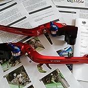 V Trec Brake Clutch Lever Set Short Long Suzuki Gsx R 600 06 10 Auto