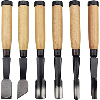 New 6pc Wood Carving Chisel Wood HDL High Quality US FREE SHIPPING *