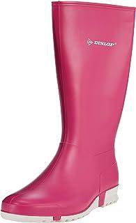 Dunlop Protective Footwear Sport Retail, Bottes de pluie Mixte Enfant, Rose (Pink), 35 EU