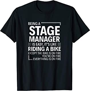 stage manager shirt
