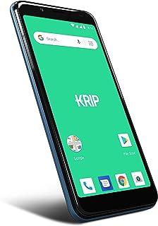"Smartphone desbloqueado Android Oreo 8.1 - Móvil KRIP K7- Pantalla de teléfono 5.5 ""- Memoria (16 GB + 1 GB) Cámara de tel..."