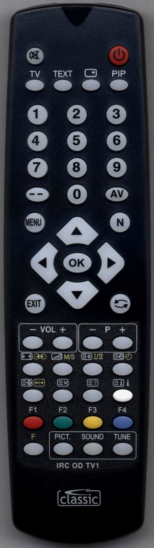 IRC81411 mando a distancia para SANYO TV, DVD, VHS. Compatible con ...