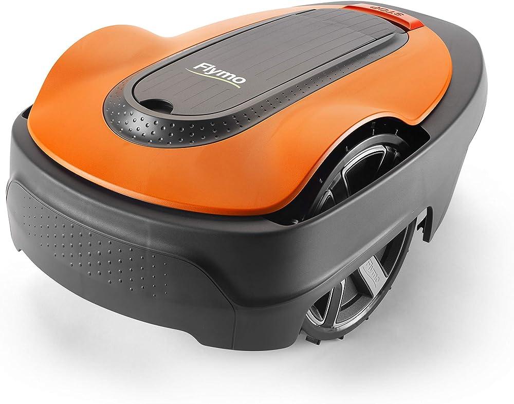 Flymo 967979901 Robot cortacésped, 18 V, Naranja y gris, 200 m²