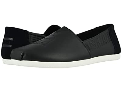 TOMS Alpargata 3.0 (Black Leather Darth Vader Emboss) Men