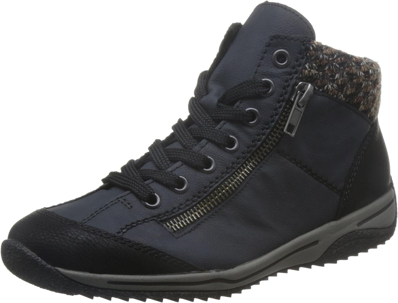 Rieker Women Ankle Boots bluee, (black Pazifik terr) L5223-00