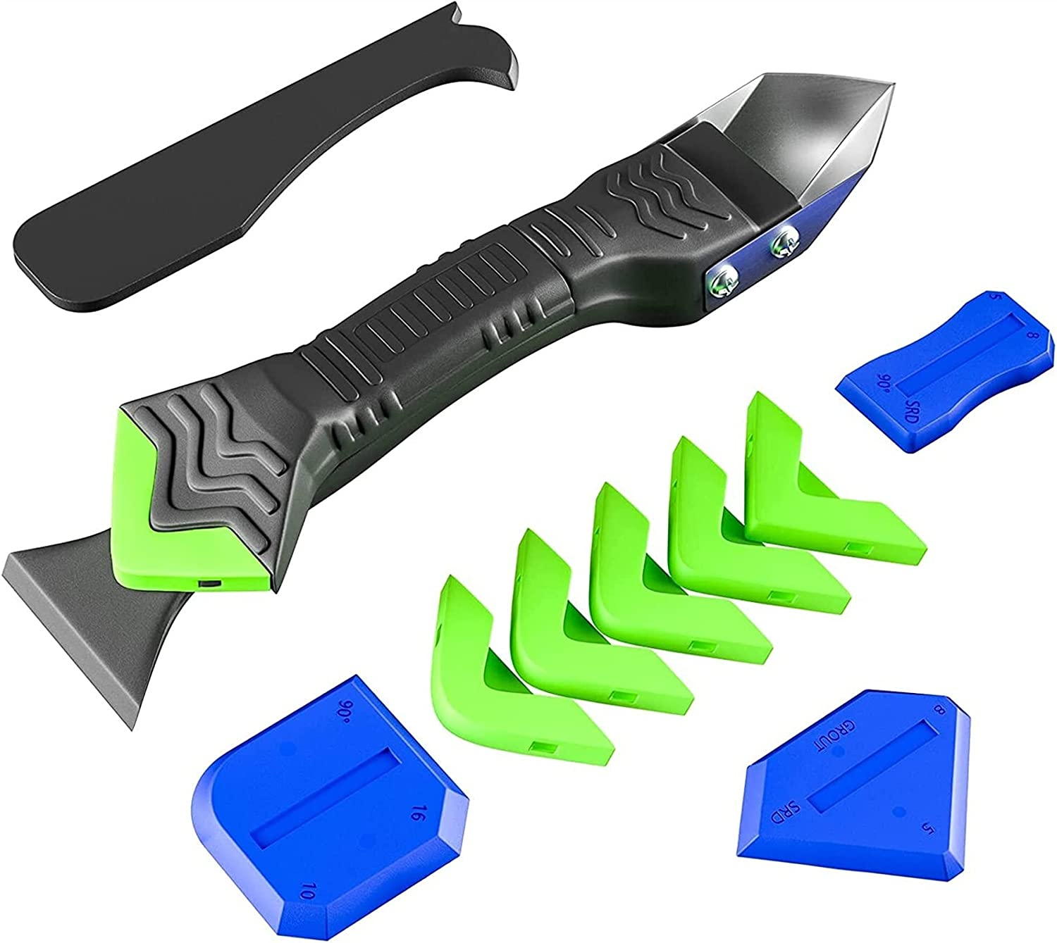 5 Great interest In 1 Caulking Tools Silicone Dallas Mall Stainless Caulk Tool Remover With
