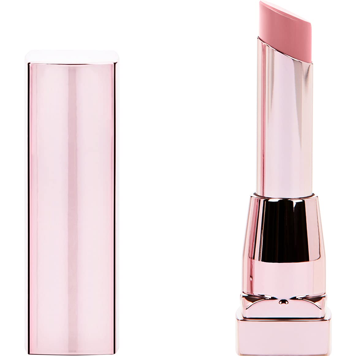 徹底トークン増幅MAYBELLINE Color Sensational Shine Compulsion Lipstick - Undressed Pink 075 (並行輸入品)