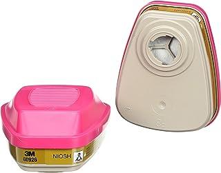 3M Multi Gas/Vapor Cartridge/Filter 60926, P100 Respiratory Protection (Pack of 2 individual cartridges)