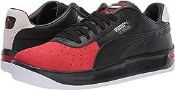 Puma Black/High Risk Red